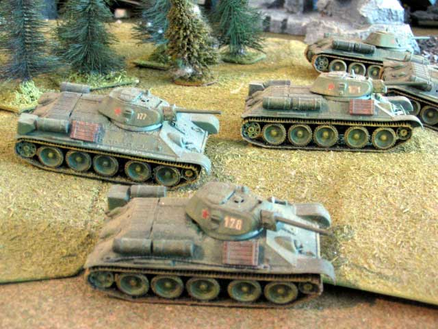 even mo t34s!